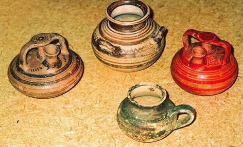 Tzanata, aryvalli from the mycenean tomb (1350-1100 BC) TZANATA (Settlement) KEFALLONIA